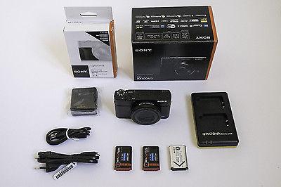 Sony Cyber-Shot DSC-RX100 M3 | DSC-RX100 III  – Kompaktkamera mit EVF