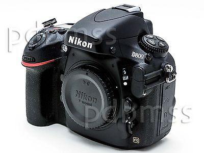 Nikon D800 FX 36.3 MP SLR-Digitalkamera Nur Gehäuse schwarz in OVP, wie neu!