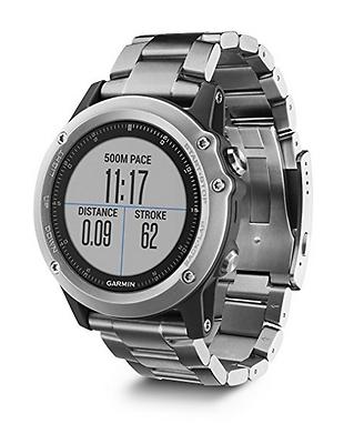 Garmin fenix 3 GPS-Multisportuhr - diverse Navigations- & Sportfunktionen