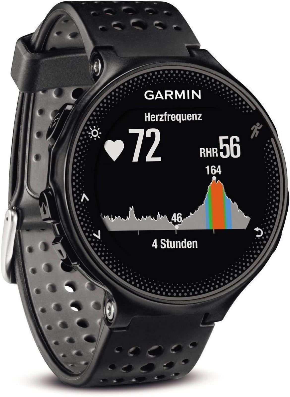 GARMIN Forerunner 235 WHR Schwarz  Fitness Uhr Sport GPS   *Neu&OVP*