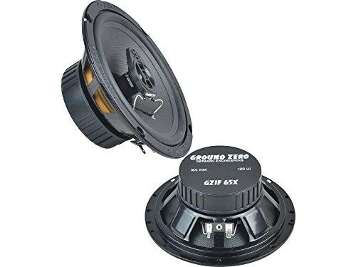 Ground Zero Iridium Lautsprecher Koax-System 240 Watt Mitsubishi L200 2. + 3. Generation 96-06 Einbauort vorne : Türen / hinten : Türen