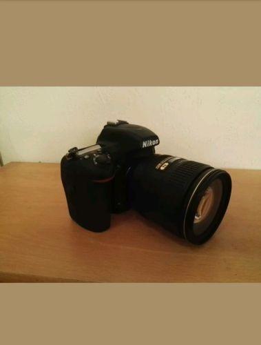 Nikon D D750 24.3MP Digitalkamera - Schwarz (Kit mit DX VR 24-120mm Objektiv)