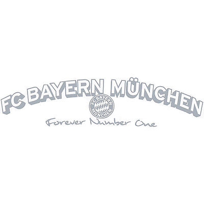 Fc Bayern München Aufkleber Autoaufkleber Forever Number One Neu