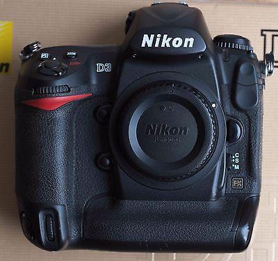 Nikon D3 Vollformat Profikamera nur 69210 Auslösungen
