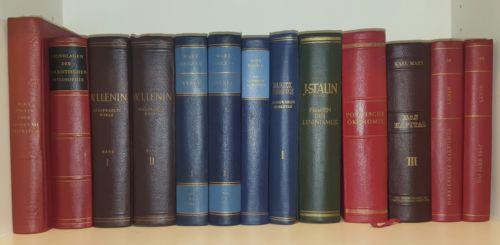 40 Bücher Kommunismus Sozialismus Marxismus Leninismus,Marx Engels Lenin, Paket