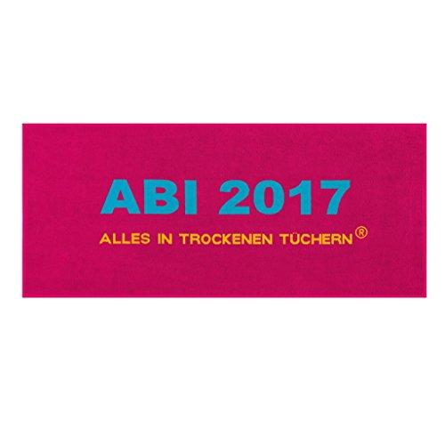 Egeria Handtuch ABI 2017 | 726 pink - 75 x 180 cm