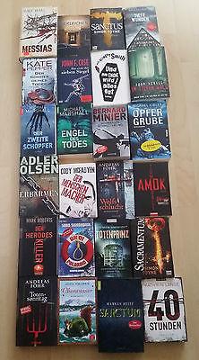 24 TOP BÜCHER - Bücherpaket - KRIMI - THRILLER - TOP - NEU !!!!