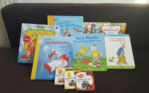** Ravensburger ** Kinderbücher Paket 10 TEILE ** Moppelpo Kita-Buch ** OSTERN