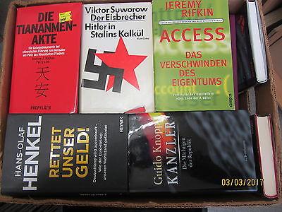 39 Bücher Sachbücher Wissenschaft Wirtschaft Politik
