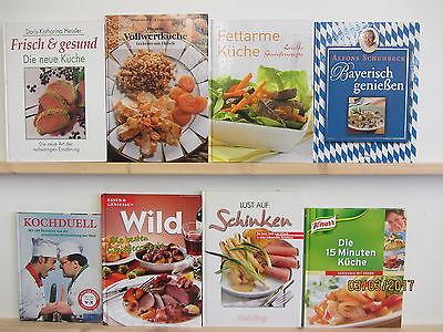 28 Bücher Kochbücher nationale und internationale Küche großformatige Bücher