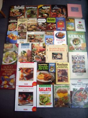 Konvolut 33 Koch - Back -  Bücher Taschenbücher Kochbuch Kochbücher Kiste Paket