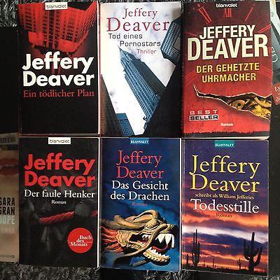 Krimis - Thriller - Jeffery Deaver - Buchpaket