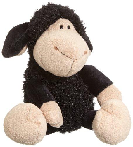 Nici 35772 - Dress your Friends - Schaf aus Plüsch, Schlenker, 25 cm, schwarz