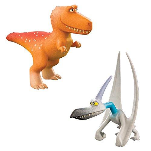 Tomy L62304 - Disney Pixar Arlo und Spot, Ramsey und Thunderclap, Spielfigur, braun/bunt