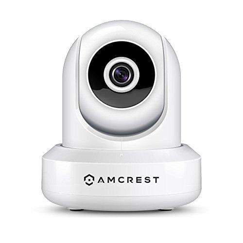 Amcrest ProHD IP2M-841W 1080P Wlan kamera, Überwachungskamera mit Pan / Tilt, Audiofunktion, Cloud Vernindung, 90° Betrachtungswinkel und Nachtsicht (Weiß)