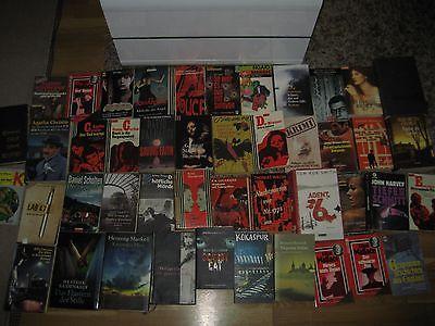 Büchersammlung 50 Stk.Bücherpaket nur Thriller Krimi Oldies +  Neuere Konvolut