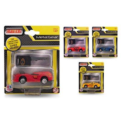 Globo Toys Globo-370624-model spidko Druckguss Auto mit Schlüssel Launch