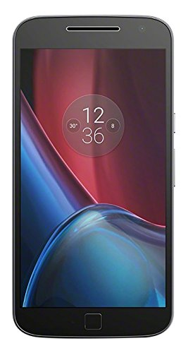 Lenovo Moto G4 Plus Smartphone (14 cm (5,5 Zoll), 16GB, Android) schwarz