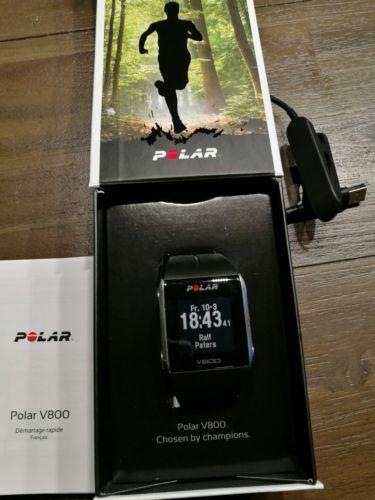 Polar V800 in OVP mit Ladekabel