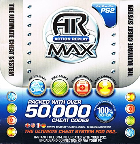 PS2 Action Replay MAX