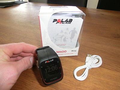 Polar M400 GPS Pulsuhr schwarz Aktivitätsmessung Sportuhr Activity Tracker