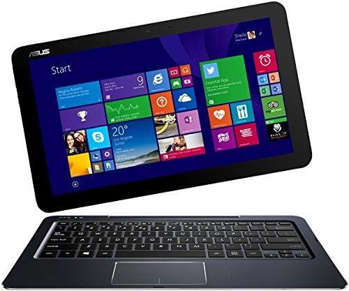 Asus Transformer Book T300CHI-FL040H 31,8 cm (12,5 Zoll) Convertible Tablet-PC (Intel Core-M-5Y10, 2GHz, 4GB RAM, 128GB SSD, Intel HD, Win 8.1) dunkelblau