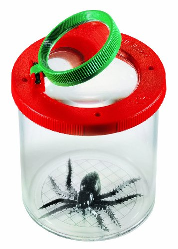 Navir 8020E - World's Best Insektenbeobachter mit Doppel-Lupe, rot