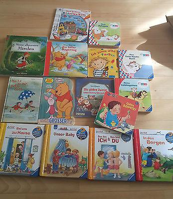 Großes Bücherpaket 4x Wieso weshalb Warum jr / Winnie Pooh / Tip Toi / Bobo ....