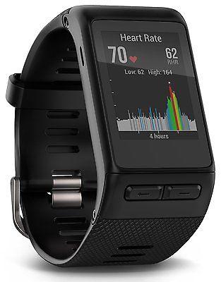 Garmin Vivoactive HR GPS NEU - schwarz - Pulsmessung am Handgelenk - dt.Fachhänd