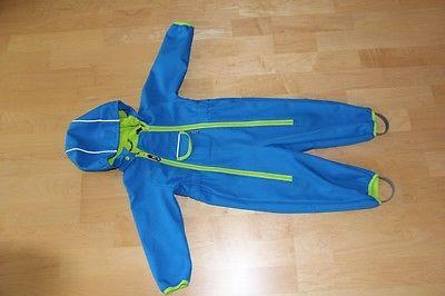 Jako o Baby Softshell Overall Softshell Anzug  dunkeltürkis Größe 80/86