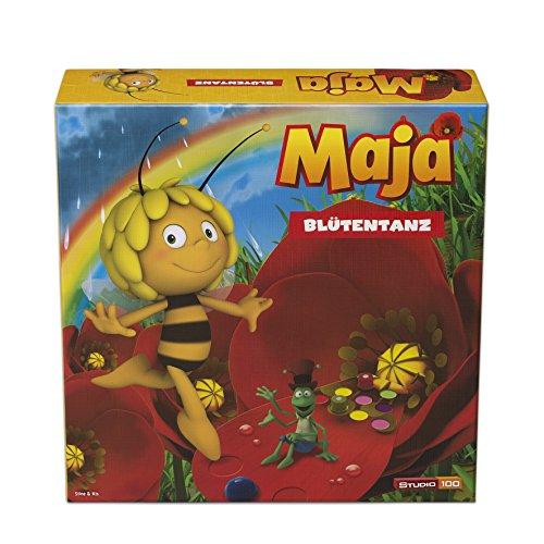 Studio 100 MEMA00001360 - Die Biene Maja: Brettspiel Blütentanz