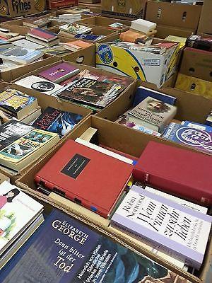 Haushaltsauflösung 1000 Bücher in 20 Kisten