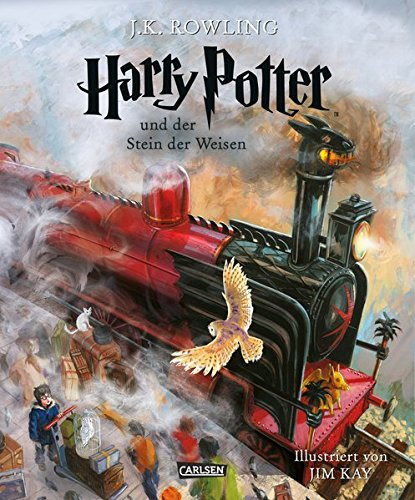 Harry Potter und der Stein der Weisen (vierfarbig illustrierte Schmuckausgabe) (Harry Potter 1)