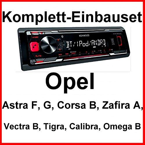 Komplett-Set Opel Astra F G Corsa B Zafira A KMM-BT203 Autoradio USB Bluetooth