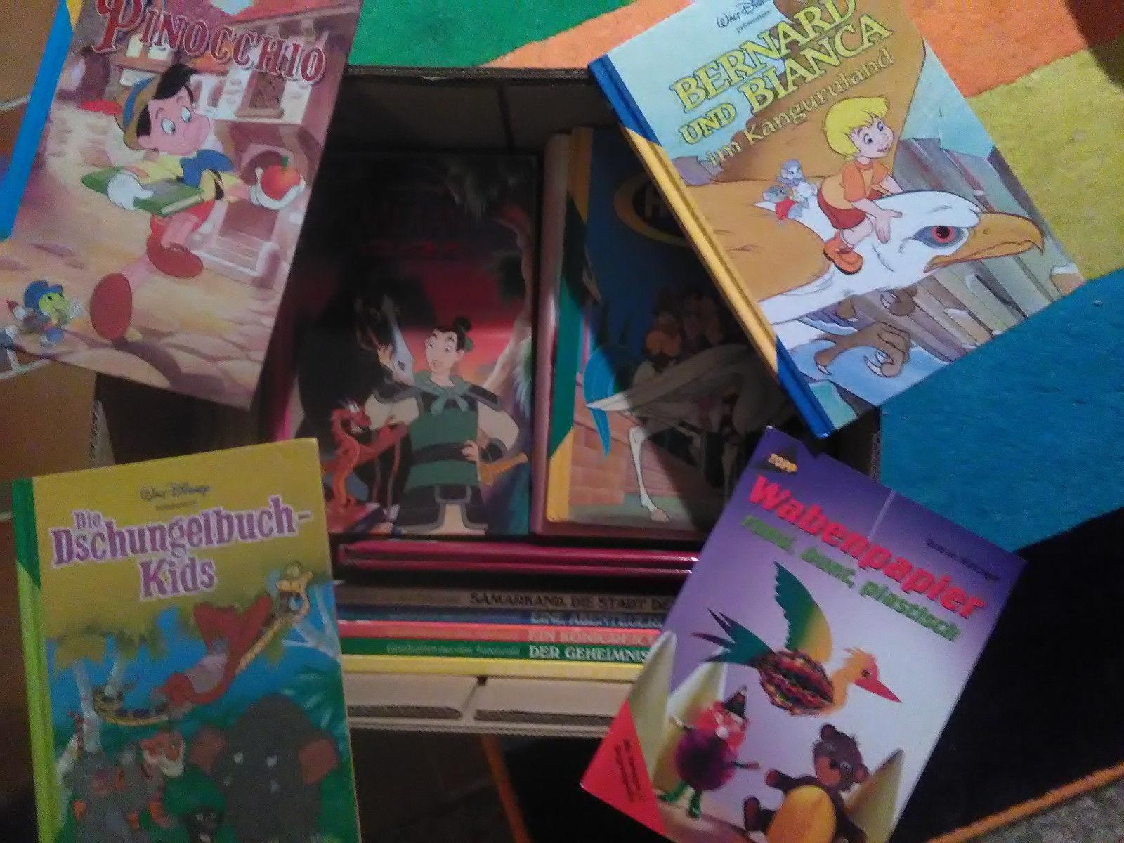 Riesiges Paket von 79 tollen Kinderbüchern & Pappbücher Walt Disney Mogli uvm