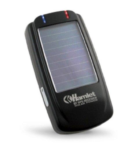 Hamlet hbtgpsol BT Solar GPS Bluetooth GPS Receiver GPS Navigator (Import)