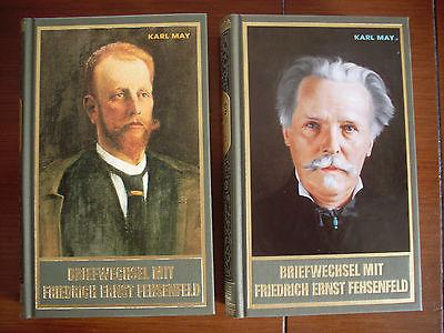Karl May Sonderband Briefwechsel Fehsenfeld 1 und 2 Band 91 und 92