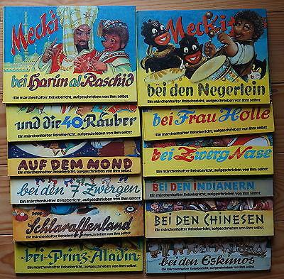 Mecki bei den Negerlein und 11 weitere Bände