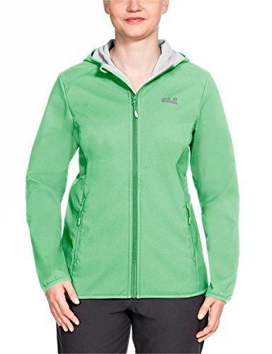 Jack Wolfskin Damen Northern Point Women Softshelljacke, Spring Green, XL