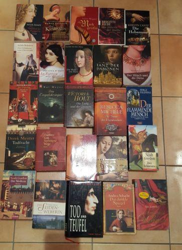 25 Historische Romane  Bücherpaket, Büchersammlung