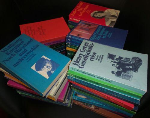Bücherkiste / Sammlung Suhrkamp Verlag Taschenbücher 50 Stück *mit Liste