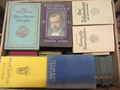 58 Bücher antiquarische Bücher