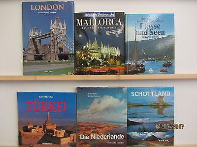 22 Bücher Bildbände Europa europäische Länder europäische Städte Landschaften