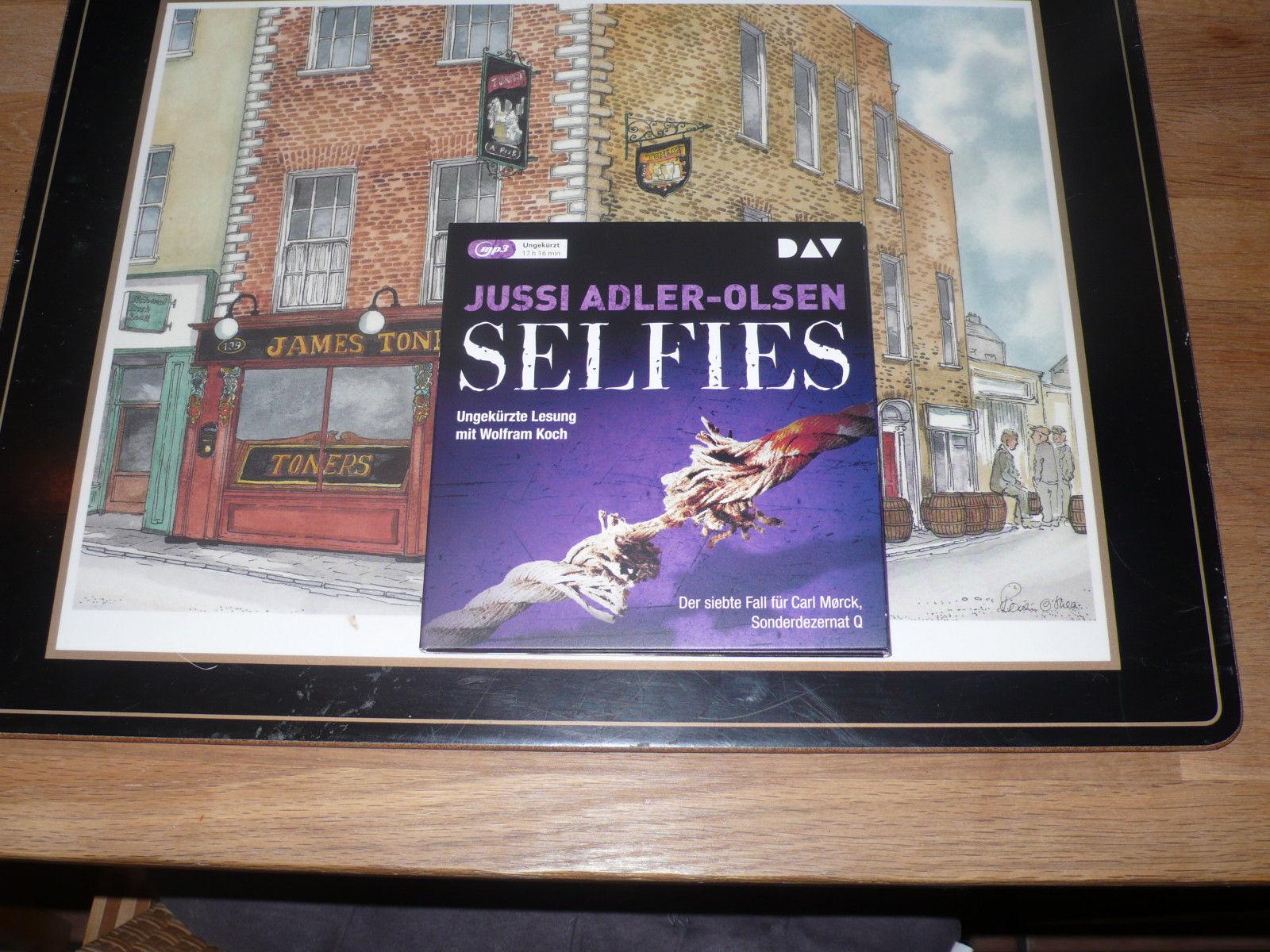 Hörbuch Selfies von Jussi Adler-Olsen auf 2mp3- CD