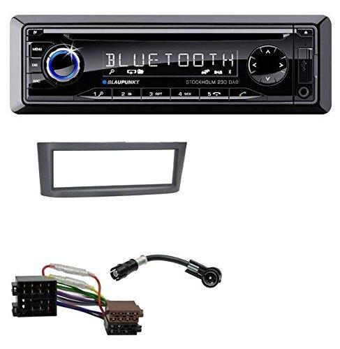 Blaupunkt Stockholm 230 DAB CD MP3 DAB USB SD Bluetooth AUX Autoradio für Smart Roadster (452)