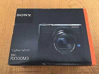Sony Cyber-shot DSC-RX100 Mark III 20.1 MP Digitalkamera - TOP!