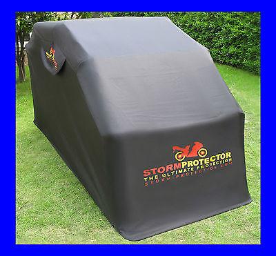 StormProtector® Motorradgarage Faltgarage Motorrad-Ganzgarage Gehärteter Stahl