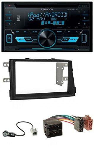 Kenwood DPX-3000U CD MP3 USB AUX 2-DIN Autoradio für Kia Sorento II (XM, 2009-2012)