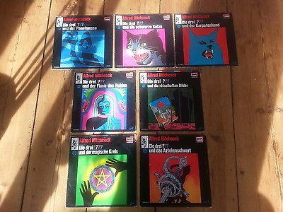 Die Drei ??? / Fragezeichen: Folge 2, 3, 4, 5, 9, 23, 27 Vinyl / LP