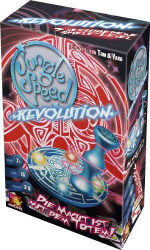 Asmodee 001195 - Jungle Speed Revolution